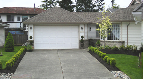 "Ladner (Delta) home. In the eyes of the owner from ""boring to spectacular"""
